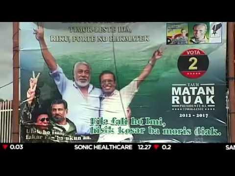 East Timor votes for new president