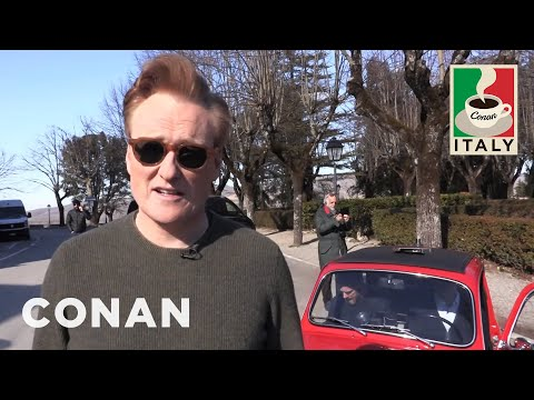 Behind The Scenes On Conan & Jordan's Italian Road Trip  - CONAN on TBS
