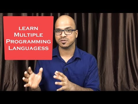 Why to learn Multiple Programming Languages?