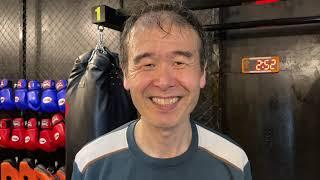58 years old ムエタイ キックボクシング ダイエットフィットネス 大阪