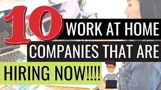 10 Рабочих Мест от Компаний по Найму Прямо Сейчас (Начните Зарабатывать в Интернете! ) | Автоматический Заработок в Браузере