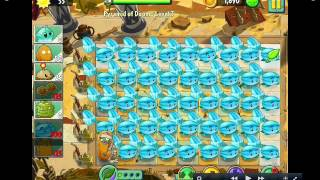plants vs zombies 2 winter melon party
