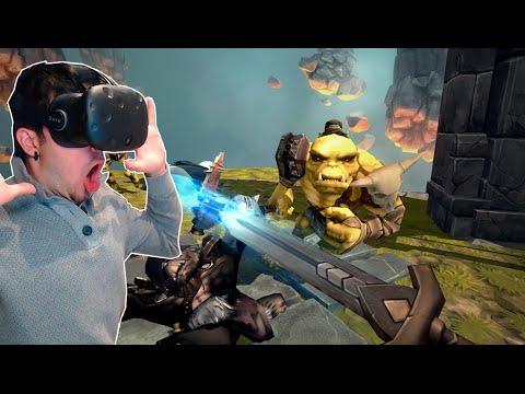INVASIÓN DE ORCOS!! TricksterVR (HTC Vive VR)