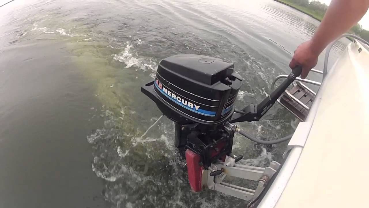 Mercury 4 5 Outboard Youtube