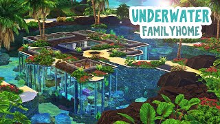 Underwater Family Home 🦀🌴 || The Sims 4: Speed Build