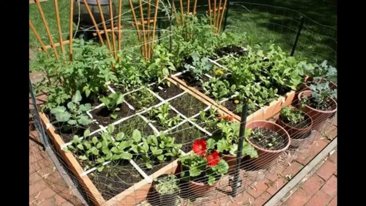 Good Small herb garden ideas - YouTube