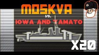 Moskva AP MONSTER vs. Yamato and Iowa    268k Damage    World of Warships