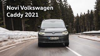 Novi Volkswagen Caddy (2021) - Popolnoma vsestranski | Porsche Inter Auto