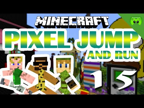 MINECRAFT Adventure Map # 15 - Pixel Jump & Run «» Let's Play Minecraft Together | HD