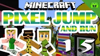 MINECRAFT Adventure Map # 15 - Pixel Jump & Run «» Let