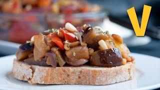 Sicilian Caponata | The Vegan Corner