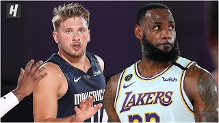 Dallas Mavericks vs Los Angeles Lakers - Full Game Highlights | July 23, 2020 | 2019-20 NBA Season