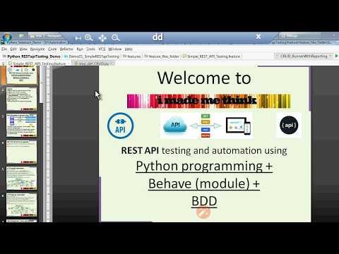 Python BDD REST API Testing Framework 2