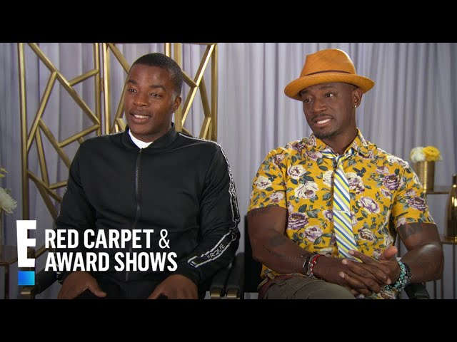"""Taye Diggs & Daniel Ezra Didn\'t Realize \""""All American\"""" Is So Popular 
