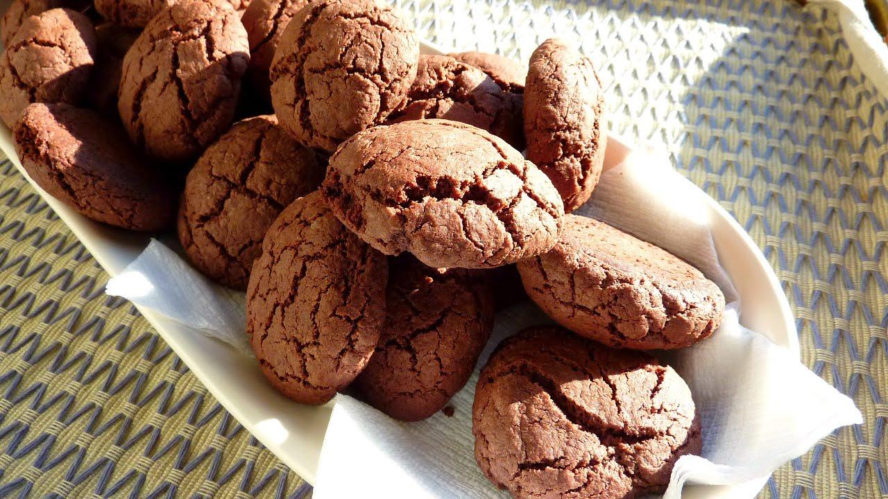 Mantequilla ni galletas de sin bicarbonato chocolate