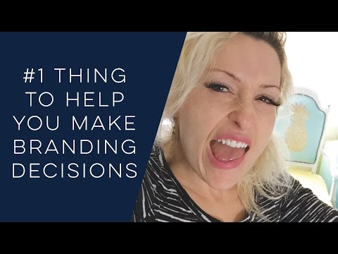 #1 Thing That Helps Branding Decisions