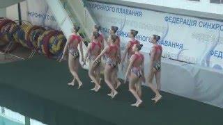 Чемпіонат України 2016. Групи. Довільна програма. Харківська область-2