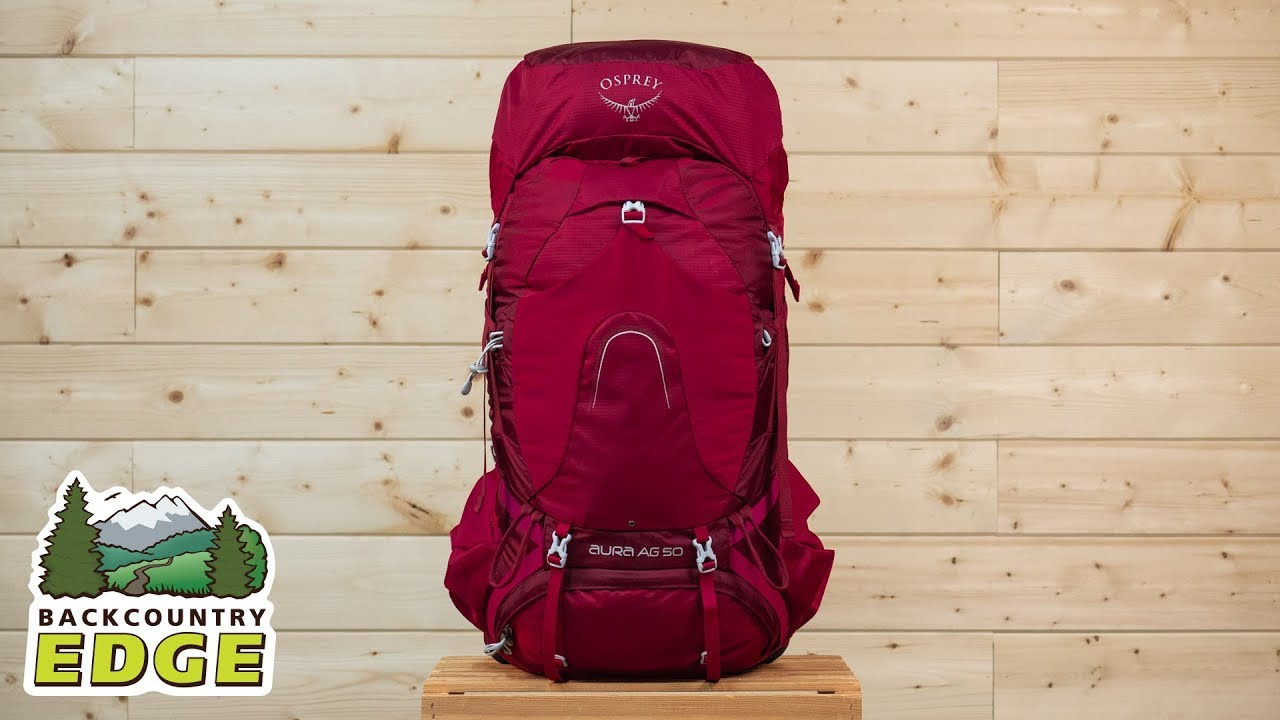 68375447a0b7 Osprey Aura AG 50 Women s Internal Frame Backpack - YouTube