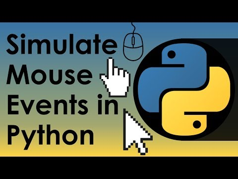 Simulate Mouse Events In Python - Nitratine
