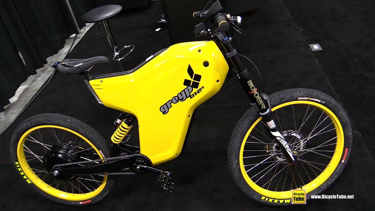 2017 Greyp G12s Electric Bike Walkaround 2016 Interbike Las