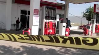 Ardahan'da Petrol İstasyonunda Patlama, Ortalık Savaş Alanına Döndü
