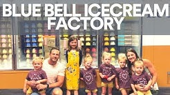 Austin Vacation Part 3 and the Blue Bell Ice Cream Factory