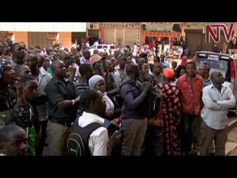 Kampala traders protest against Chinese