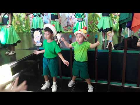NUTRITION MONTH DANCE KIDS -BAHAY KUBO-