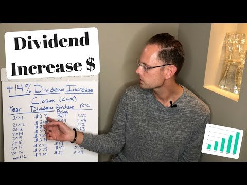 My HUGE 14% Dividend Increase (Dividend Investing Explained)
