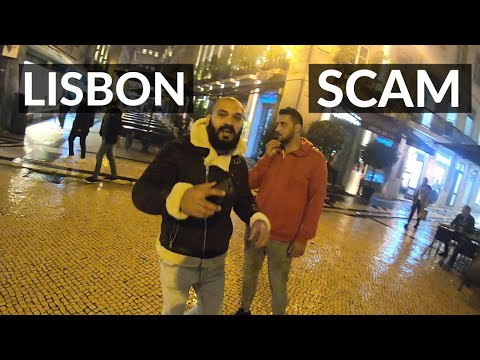 Exposing Fake Gypsy Drug Scammers in Lisbon, Portugal! POLICE CAME
