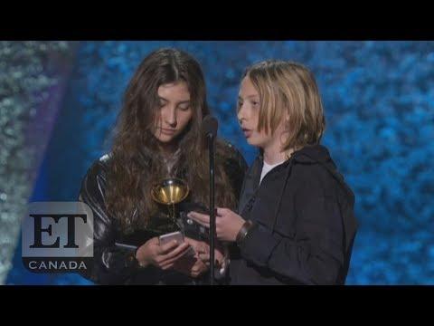 Chris Cornell's Children Accept Posthumous Grammy In Emotional Speech