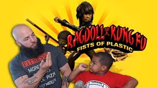 Rag Doll Kung Fu: Fists Of Plastic (PS3) - Father & Son Beatdown