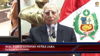 Tema: Ceremonia de Asunción al Cargo de Decanato de FIGMMG