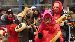 'Strawberry Ceremony' held to honour missing, murdered members of Indigenous community