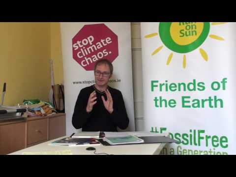 Interview with Oisín Coghlan of Stop Climate Chaos