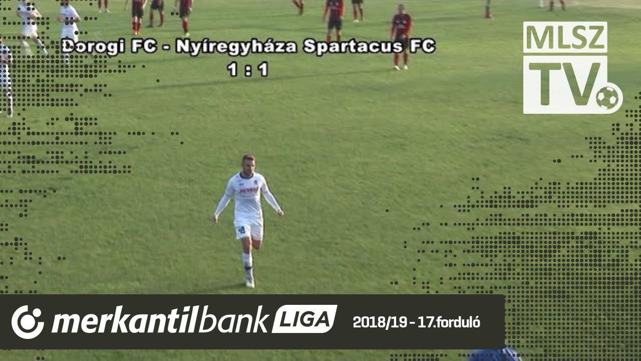 Dorogi FC - Nyíregyháza Spartacus FC | 1-1 (1-0) | Merkantil Bank Liga NB II.| 17. forduló |