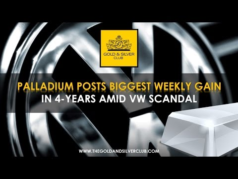 The Gold & Silver Club | Commodities Trading | 152 - Palladium Posts Biggest Weekly Gain In 4 Years