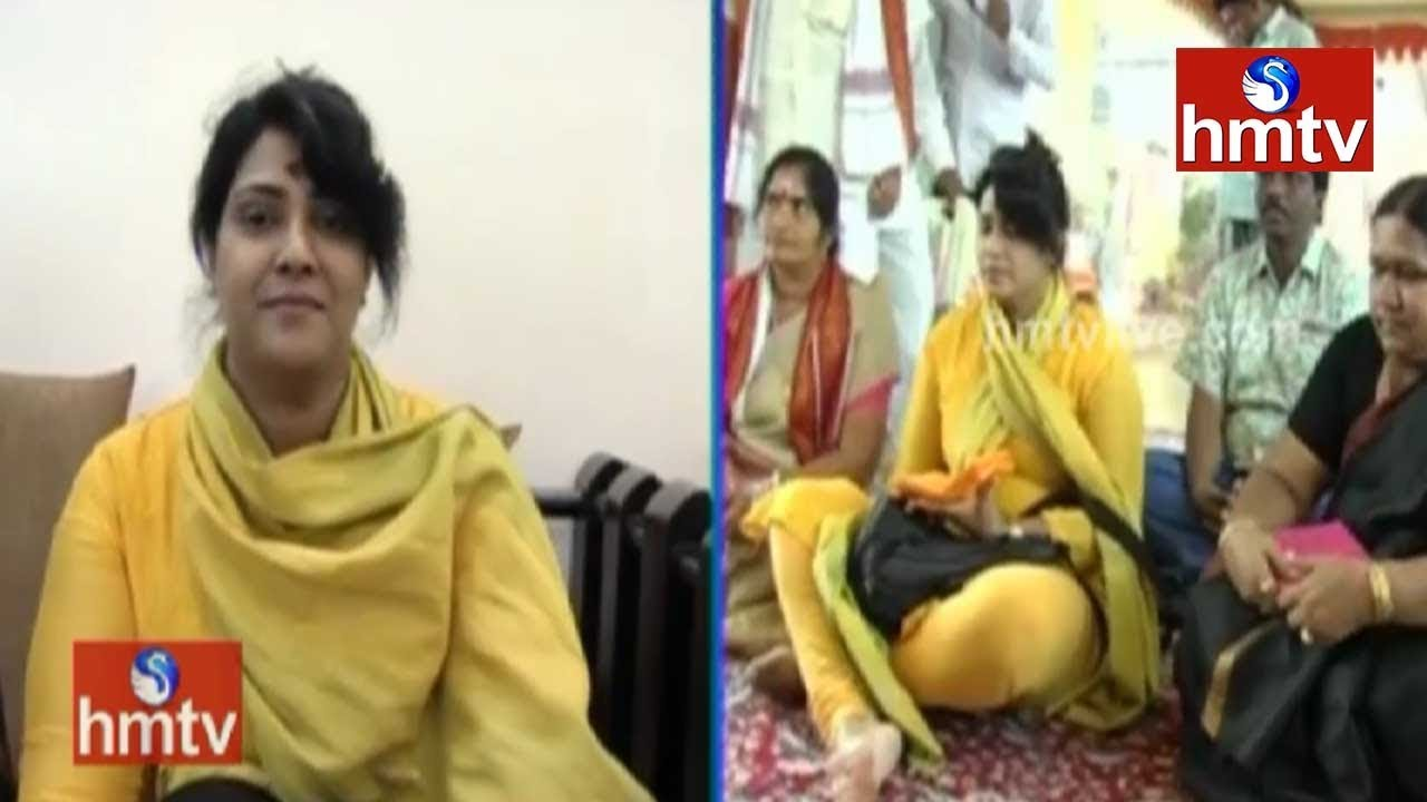 Actress Vani Viswanath to Join TDP Tomorrow | hmtv