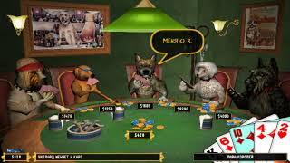 Игромания (11 выпуск) Dog Playing Poker