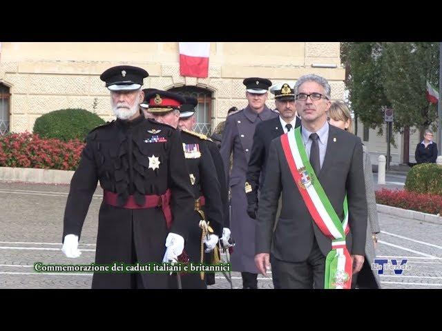 Commemorazione dei caduti italiani e britannici
