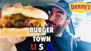 DENNY'S BURGER TOWN USA (AMERICA'S DINER CHEESEBURGER )