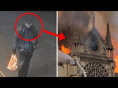 Beccato L'uomo Dell' incendio Di Notre Dame