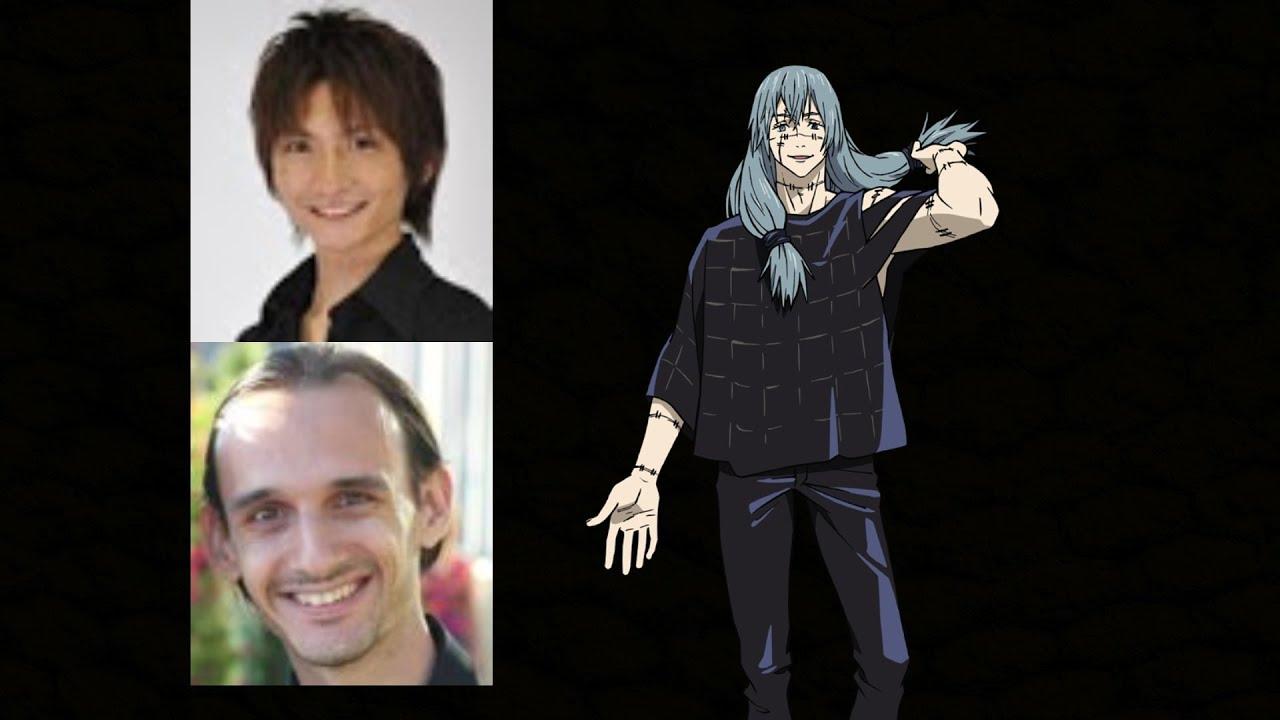 Animated Voice Comparison Mahito Jujutsu Kaisen Youtube