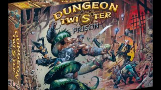 Dungeon Twister Prison Solo Play through Ep 1: Set Up