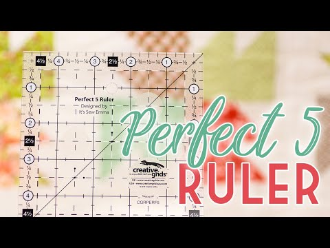 Perfect 5 Ruler By Creative Grids   It's Sew Emma   Fat Quarter Shop