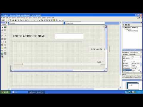 Visual Basic 6.0 Load image