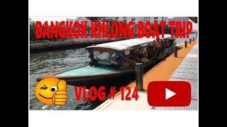 Khlong Boat trip Bangkok Thailand