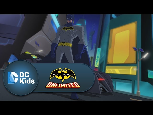 Battle In The Streets | Batman Unlimited | DC Kids