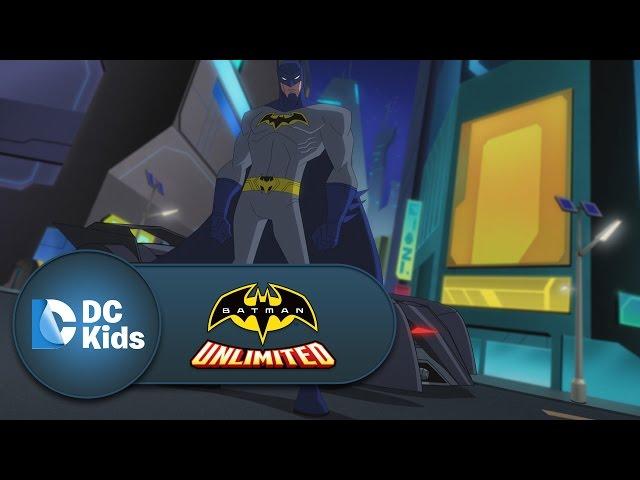 Battle In The Streets | Batman Unlimited | DC Kids