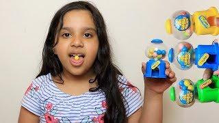 Fingers Family Kid Song Colorful Gumball Cute shfa Kinderlieder und lernen Farben Baby spielen